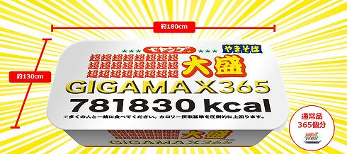 ペヤングソースやきそば超∞超大盛GIGAMAX365-2