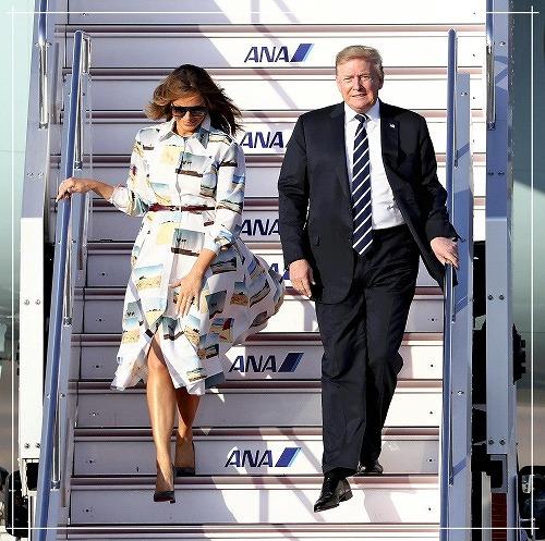 メラニア夫人の2019来日時のファッション(ワンピース)が気になる1