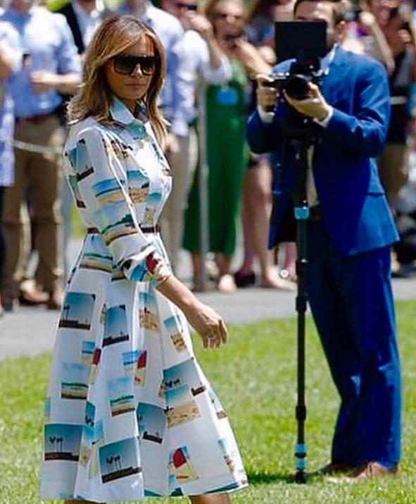 メラニア夫人の2019来日時のファッション(ワンピース)が気になる2