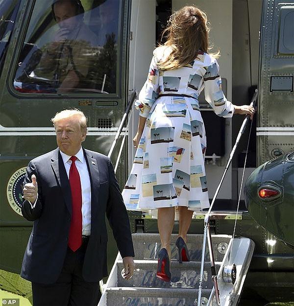 メラニア夫人の2019来日時のファッション(ワンピース)が気になる6