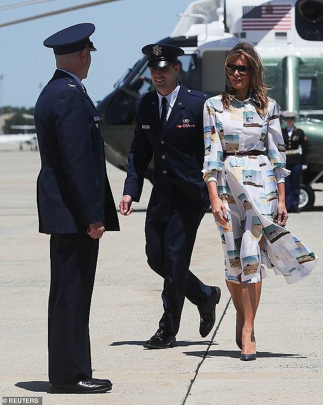 メラニア夫人の2019来日時のファッション(ワンピース)が気になる8