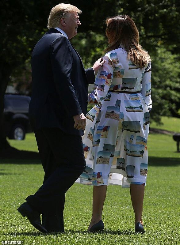 メラニア夫人の2019来日時のファッション(ワンピース)が気になる9
