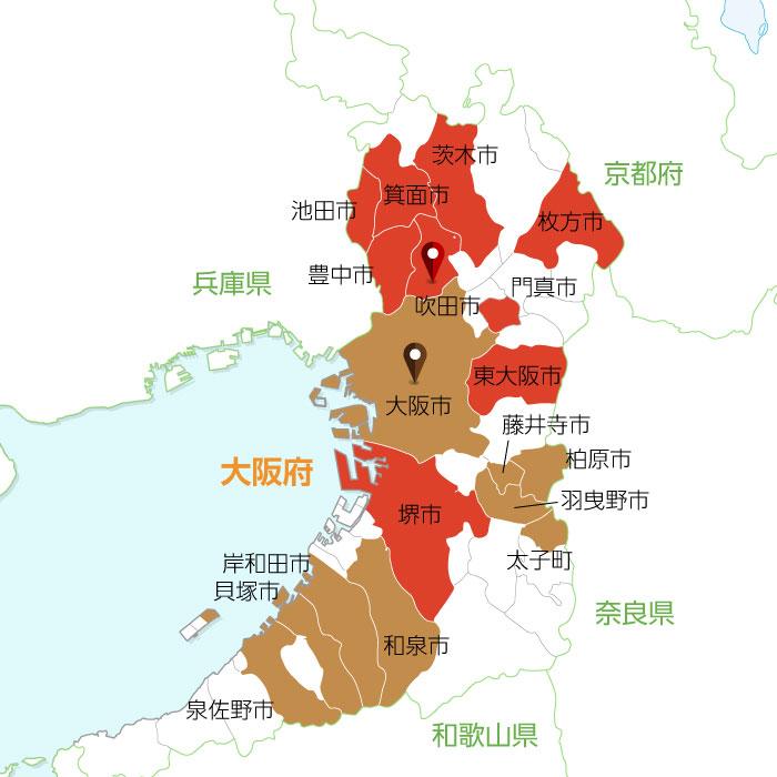 聖火リレールート地図10