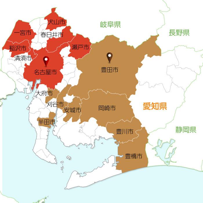 聖火リレールート地図6
