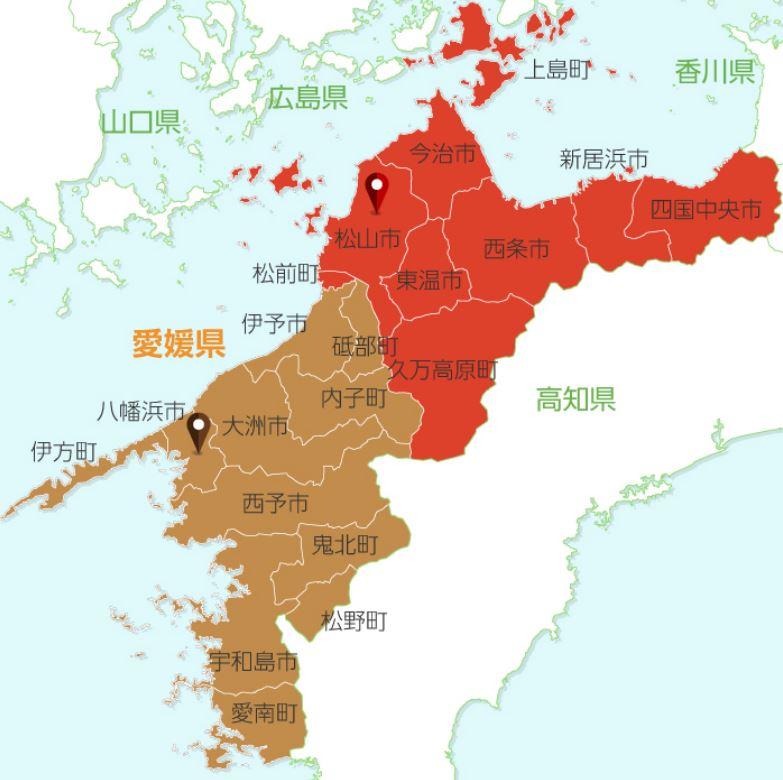 聖火リレールート地図14