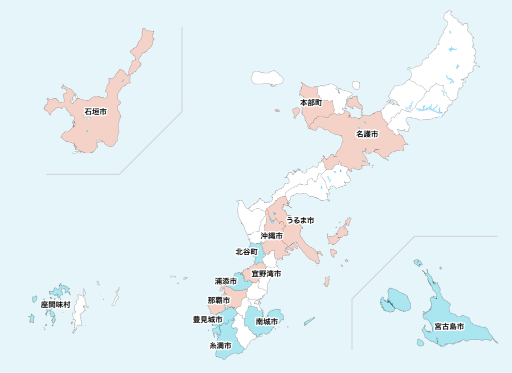 18沖縄県聖火リレーマップ