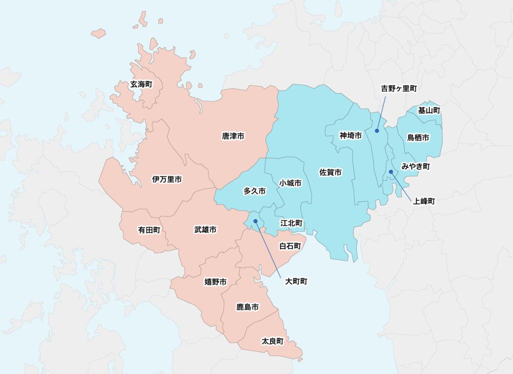 21佐賀県聖火リレーマップ
