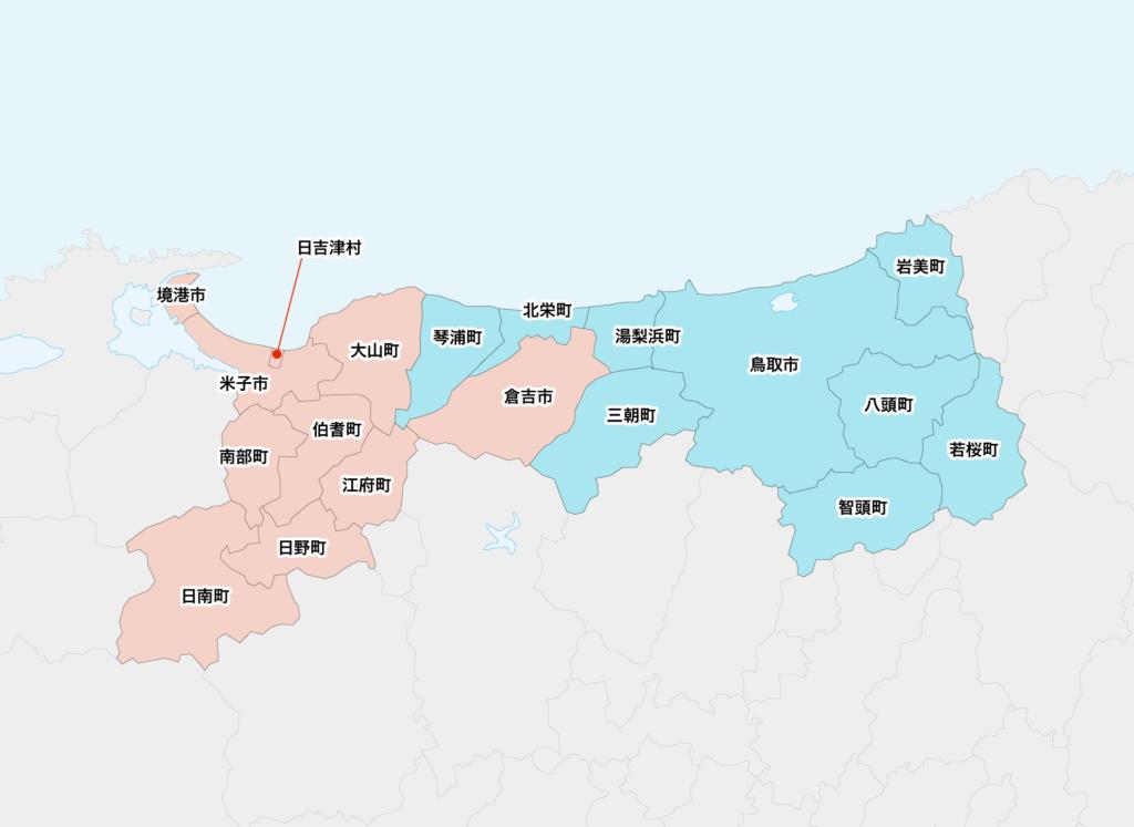 27鳥取県聖火リレーマップ
